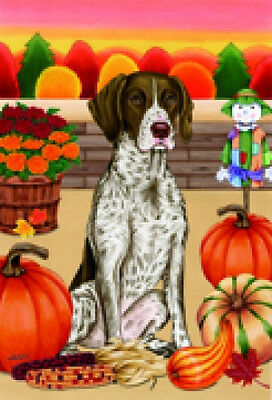 Garden Indoor/Outdoor Autumn Flag - German Shorthaired Pointer (TP) 670491