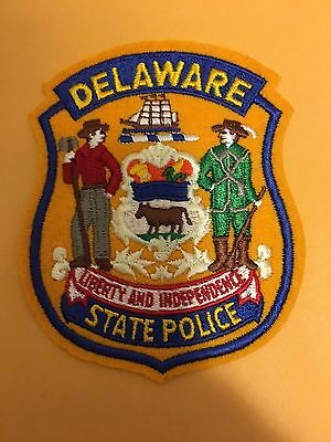 Delaware State Police  Shoulder Patch