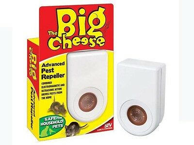 THE BIG CHEESE Advanced Pest Repeller Pet And Child Safe