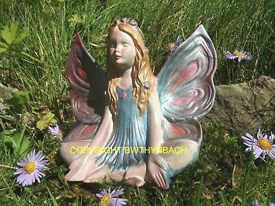 New Design Rubber Latex Mould Mold Moulds Faerie Fairy Fairie Sat Up Meditating