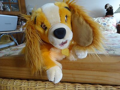 "Disney Store Lady and the Tramp ""Lady"" soft toy. 12"""