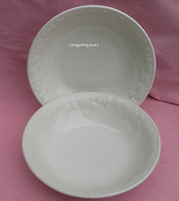 """2 X Bhs Lincoln - 9"""" Serving/pasta Bowls - British Home Stores"""