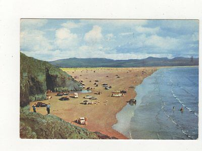 Black Rock Sands Portmadoc 1972 Postcard 451a
