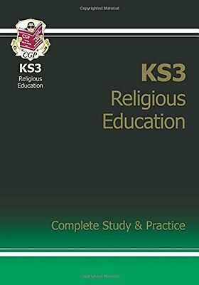 KS3 Religious Education Complete Study & Practice New Paperback Book CGP Books