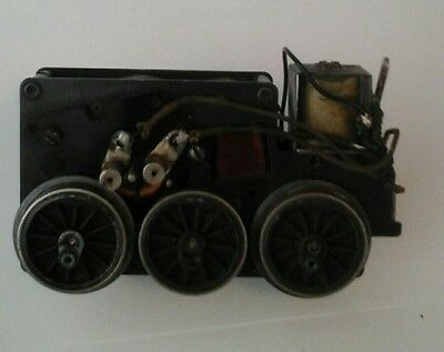 Lionel motor runs great sold as for parts, restore,use pictured+