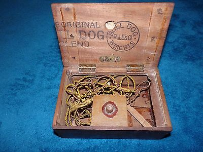 antique hidden secret crystal set radio ?? resistance / spy ?? P.O.W.