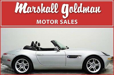 2001 BMW Z8 Base Convertible 2-Door 2001 BMW Z8 in Titanium Silver Black leather interior only 8,100 miles
