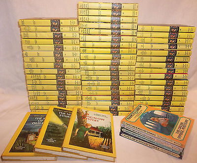 Nancy Drew Vtg Set 1-60 Complete 1-56 Hardcover Books Good -Very Good