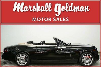 2008 Rolls-Royce Phantom Drophead Coupe Convertible 2-Door 2008 Rolls Royce Phantom Drophead Coupe Black/Black only 3,800 miles