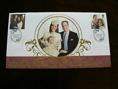 Royal Christening of Prince George, William + Catherine, Buckingham Cover 2013