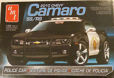 AMT 1/25 Scale 2010 Chevy Camaro SS/RS Police Car 817L/12