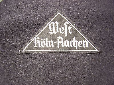 # 1 Original Vintage Wwii  German Rad  Youth Triangle Sleeve Patch