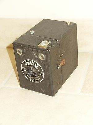 ancien appareil photo BOX SUPERAS 6x9  old camera vintage
