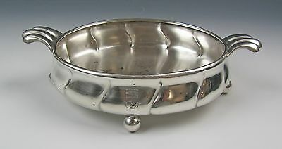 Antique Hugo Bohm Arts & Crafts Sterling 800 Handled Bowl German 4.34ozt