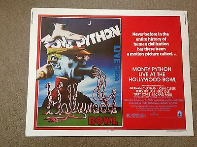 Monty Python - Hollywood Bowl - Usa Half Sheet Poster -  Original Issue