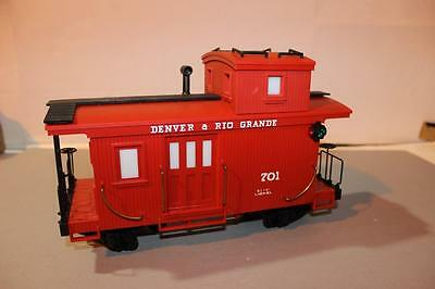 G Scale - Lionel- Denver & Rio Grande Caboose -New - No Box- Sh