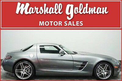 2011 Mercedes-Benz Other Base Coupe 2-Door 2011 Mercedes Benz SLS AMG in Imola Grey with Black leather only 2,075 miles
