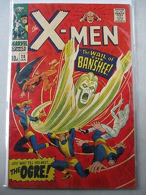 Uncanny X-Men Vol. 1 (1963-2011) #28 FN+ 1st Banshee UK Price Variant