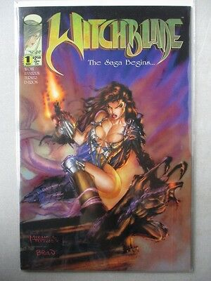 Witchblade (1995-Present) #1 VF+ 1st Witchblade