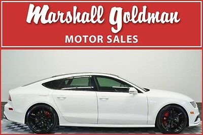 2016 Audi Other  2016 Audi S7 in Ibis White with Black leather interior and only 22,400 miles
