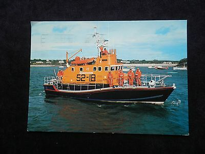 "1980s POSTCARD OF ST. MARY'S, ISLES OF SCILLY, ARUN LIFEBOAT THE ""ROBERT EDGAR"""