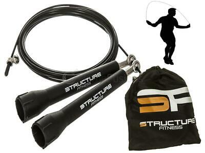 Speed Skipping Rope Exercise Adjustable Steel Cable Fitness Boxing Gym Crossfit
