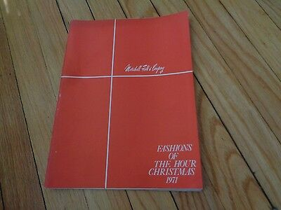 1971 Marshall FIeld's Field Fashions of the Hour Catalog Christmas