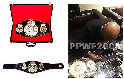 Floyd Mayweather Jr Hand Signed Autographed Wba Boxing Belt With Pic Proof Coa