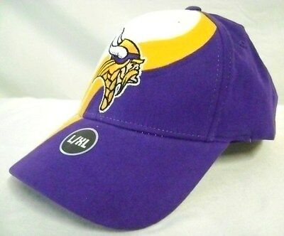 Minnesota Vikings New Mens Hat Cap size L / XL NFL Football