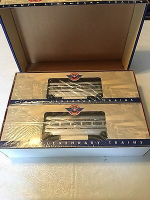Mint Brand New Lionel 6-39106 Canadian Pacific Passenger Car Two-Pack
