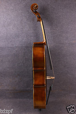 new cello 4/4 Top grade full size Cello Solid wood Powerful Sound hand made #628