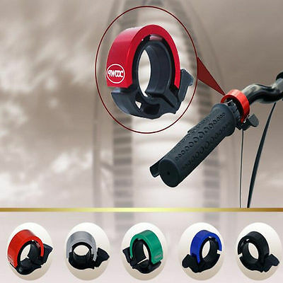Aluminum Alloy Bike Bicycle Invisible Bell Loud Sound Handlebar Safety Horn