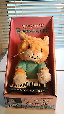 Play Me Off Keyboard Dancing Cat Charlie Schmidt's Keyboard Internet Cat Doll