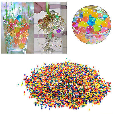 50000Pcs Water Ball Crystal Pearls Jelly Gel Beads for Kid Toy Refill Decoration