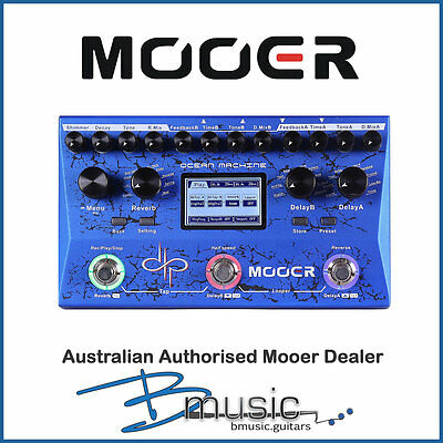 Mooer Devin Townsend Ocean Machine Multi-Effects - NEW - Authorised Dealer