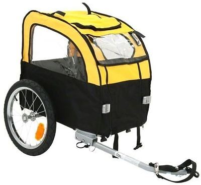 Dog Bike Trailer Carrier Bicycle Small Windows