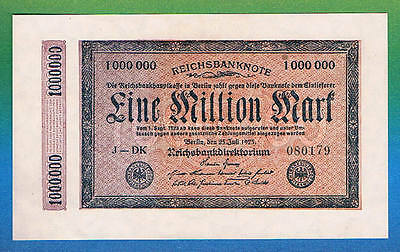 1 Million Mark 1923 Ro 93 Kölner Provisorium