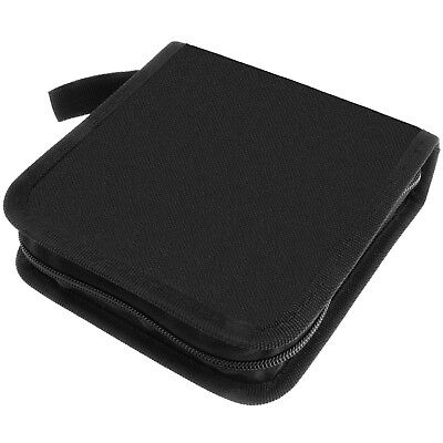 40 Disc DVD Case CD Blu Ray Storage Wallet Organizer Bag Album Media Holder Car