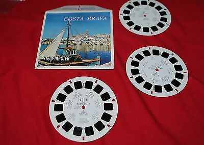 Sawyers View Master  Packet 3 Reel Set C 240 E Costa Brava   As Listing
