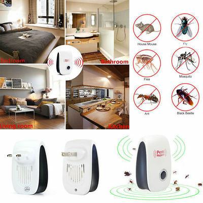 Electronic Repeller Mosquito Magnetic Ultrasonic Pest Reject Anti Insect Killer