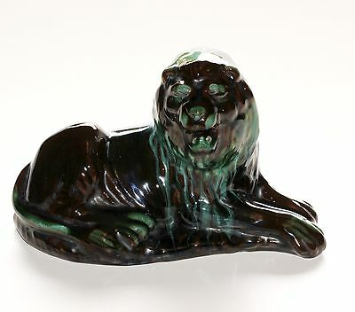 Blue Mountain Pottery, Large Lion.