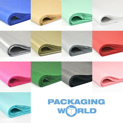 Top Quality 17gsm Coloured Acid Free and Metallic Tissue Paper 500x750mm/20x30""