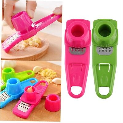 Creative Simple Multi-Function Garlic Ginger Grinder Device Kitchen Tools EH
