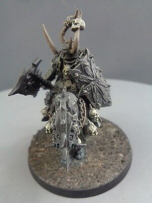 Warhammer Age of Sigmar Warriors of Chaos Metal Lord on Daemonic Mount 523