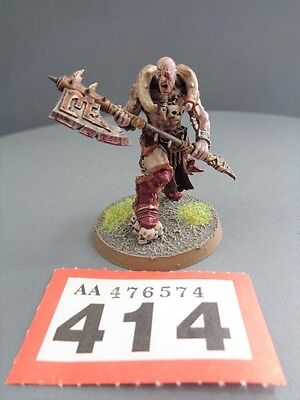 Warhammer Age of Sigmar Warriors of Chaos Slaughterpriest 414