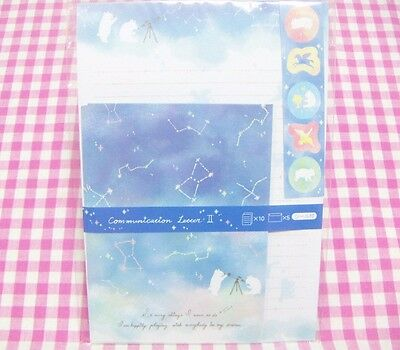 SYNAPSE JAPAN / Cute Constellation White Bear Letter Set / Japan Stationery