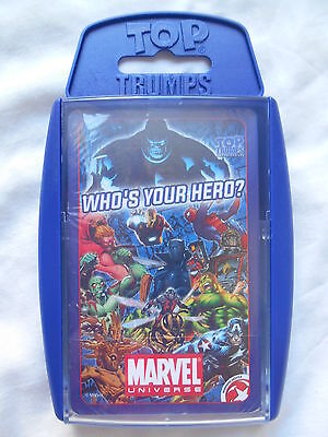 Top Trumps Marvel Comics Universe Card Game 2015 *new & Sealed*