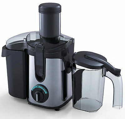 Whole Fruit and Vegetables JUICER 2.0L Juice Extractor Charles Jacobs Black