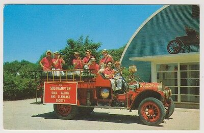 Road Transport postcard - 1911 Pope-Hartford Chemical & Hose Wagon