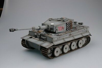 Torro 1112100708 Tiger 1 RC Tank 1/16 with Infrared Battle Gray